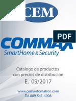 Catalogo Commax