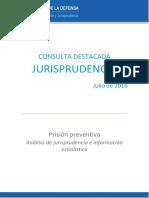 Boletin PRISION PREVENTIVA Ministerio Publico Defensa