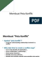 7. Membuat Peta Konflikb