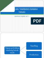 PELEDAKAN TAMBANG BAWAH TANAH.pptx