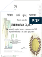 Kinesio Taping Certification