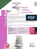 Fichas01 Riesgos y Factores Psicosociales