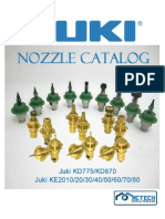 juki nozzle catalog and price list with logo