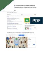 Tutorial de Entrada a Google Classroom