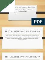 Control Interno Historia