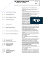 Anexo 2 Clasificador Gastos RD030 2015EF5001