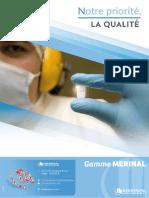 Catalogue de Gamme Merinal