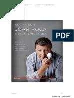Cocinando a Bajas Temperaturas- Joan Roca
