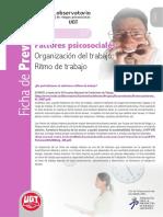 Fichas07 Ritmo de Trabajo