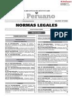 DECRETO SUPREMO N° 042-2018-EF