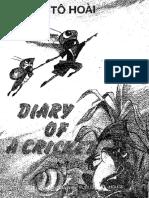 Diary of a Cricket