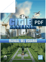 CitiesSkylines UserManual ES