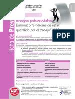 Fichas18 Burnout