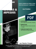 ESCALAS Y ARPEGIOS - Guitarra - Version Gratuita