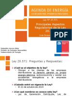 Aspectos Regulatorios Ley 20571