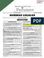DECRETO SUPREMO N° 049-2018-EF