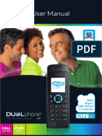 RTX Dualphone 3088 Skype Cordless Phone Manual