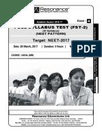 resonance test paper