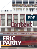 Preview Eric Parry Context Architecture and the Genius of Place
