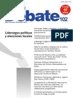 """Provincia de Buenos Aires  ¿La jefatura comunal como """"techo de cristal"""" de los intendentes bonaerenses?"""