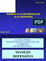 n 14 Manejo a La Defensiva en Alta Montaña (1)