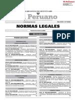 DECRETO SUPREMO N° 024-2018-EF-MEF