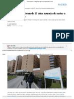 En Prisión Una Joven de 19 Años Acusada de Matar a Su Recién Nacida _ Madrid _ EL PAÍS