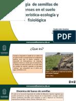 Biología de Semillas de Arvenses en El Suelo