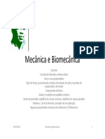 Tema #4 Mecânica e Biomecânica -