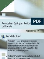 121946815 Perubahan Jaringan Periodontal Pd Lansia Perubahan Fisiologis Pada Rongga Mulut Lansia Kel 40