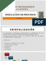 CRISTALIZACION - SIMULACION