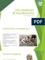 1. Aspectos Generales de Paleobiologia