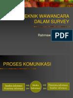 k25 - Teknik Wawancara Dalam Survey-wulan