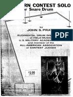 J S Pratt-14 Solos 3-11