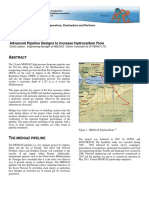 Advanced Pipeline Designs to Increase Hydrocarbon Flow