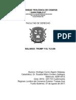 Balance Trump y TLC