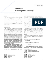 Overview and Application of Steel Materials for High-Rise Buildings