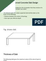 Detailing of Rcc Slabs Presentantions