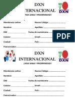 Dxn Internacional