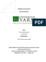 Preskas Paru Efusi Pleura case report