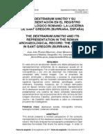 La Dextrarum Iunctio y Su Representación en El Registro Arqueológico Romano