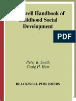 Peter K. Smith, Craig H. Hart - Blackwell Handbook of Childhood Social Development