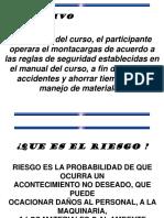Curso Montacargas Manual