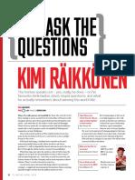 You Ask The Questions - Kimi Räikkönen