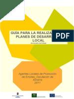 Guía Planes Desarrollo Local