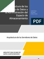 Arquitectura de Los Servidores de Datos y La