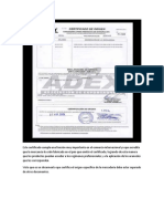 Este Certificado Cumple Una Función Muy Importante en El Comercio Internacional Ya Que Acredita Que La Mercancía Ha Sido Fabricada en El País Que Emitió El Certificado