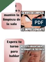 Normas de La Sala Memes