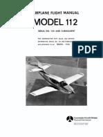 112A Flight Manual