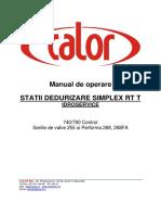 Manual de Operare Idroservice Statii de Durizare
